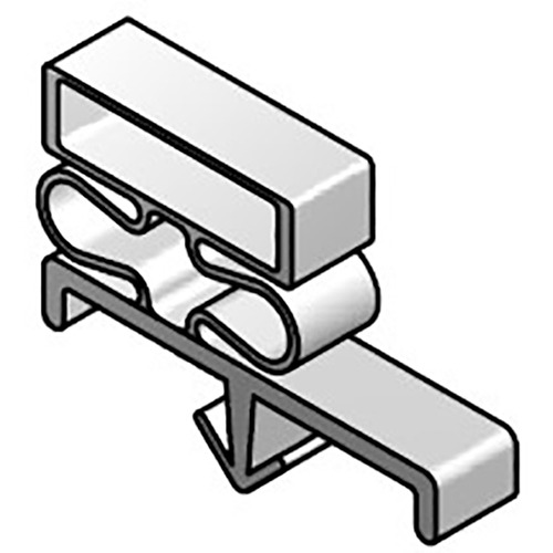 DOOR GASKET MAGNETIC - Custom Sized - Single Dart