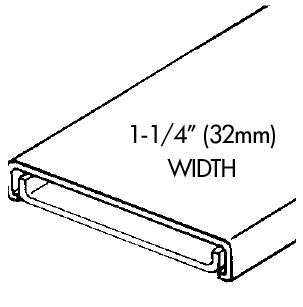 HEATER WIRE TRIM - Three 80in Sections - Base & Cap - Old Style Trim
