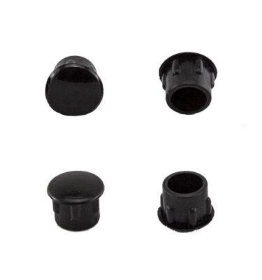 CAM PLUGS 3/8in - Black - Quantity of 100