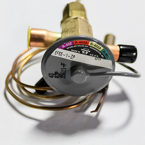 EXPANSION VALVE - EFSE-1-ZP - R404a Refrigerant