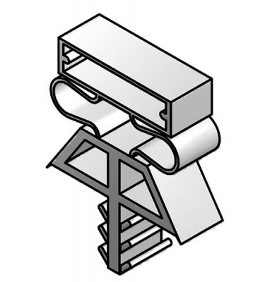 DOOR GASKET MAGNETIC (OLD STYLE) - Custom Sized - Triple Dart