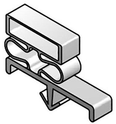 DOOR GASKET MAGNETIC - 34X96 - Single Dart