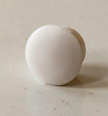 CAM PLUGS 1/2in - White - Quantity of 100