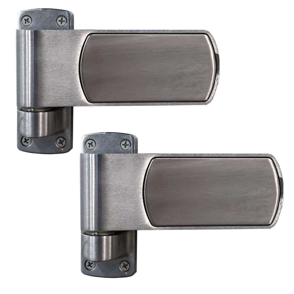 design p hinge door satin x in nickel corner house hinges square