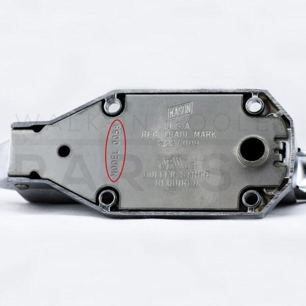 Kason - 58 Brushed Steel Door Latch Serial#
