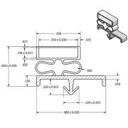 p-3023-dart-gasket-drawing-180x180 Walk In Freezer Wiring Diagram Parts on sears upright freezer diagram, kegerator diagram, refrigeration circuit diagram, basic freezer diagram, freezer components diagram, freezer thermostat, freezer wiring a circuit, freezer wiring schematic 253 14592101, freezer schematic diagram, freezer wiring schematic sears 106 720461,