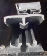 DOOR GASKET MAGNETIC - 34X76 (Standard Door Size) - Single Dart