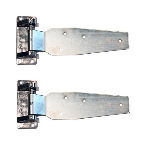 DOOR HINGES - KASON 1277T Pair - Heavy Duty - Flush