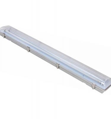 FLUORESCENT LIGHT - KASON 1810 - 4ft - Cooler/Freezer Rated