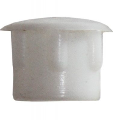 CAM PLUGS 3/8in - White - Quantity of 100