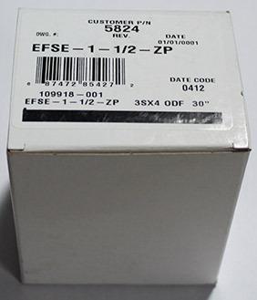 EXPANSION VALVE - EFSE-1-1/2-ZP - R404a Refrigerant