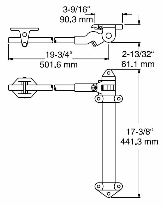 DOOR CLOSER - KASON 1097 - Spring Action Heavy Duty