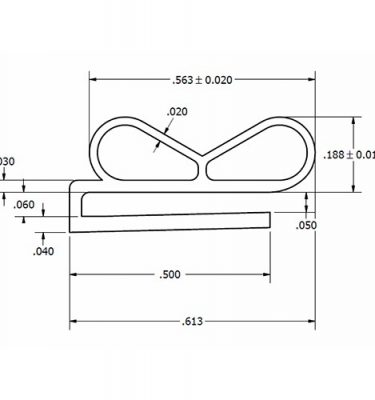 PANEL GASKET - for Modular Panels